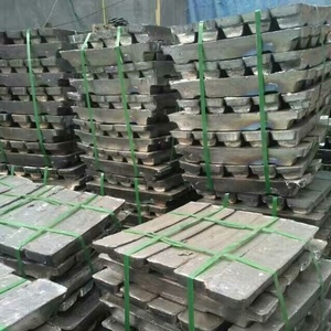 Top purity lead ingot metal Pb 99.994