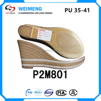 lady shoes PU outsoles for shoe making