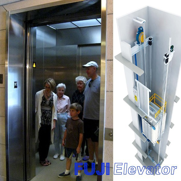 Fuji indoor outdoor aufzug f r kleine h user aufzug for Indoor elevator