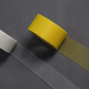 Drywall fiberglass self adhesive mesh joint tape for gypsum board with 20m 45m 90m length