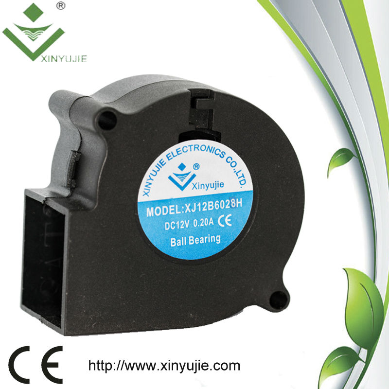 "12v mini shenzhen brushless dc 2"" inline fan blower"