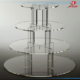 High Quality Custom Crystal Chandelier Wedding Cake Stand/Crystal Cake Stand