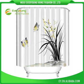 Factory Wholesale Price Best Selling Bath Shower Curtain