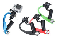 NEW Pro Handheld Stabilizer Steady Steadycam bow shape for Camera Gopro Hero HD 4 3+ 3 2 1 sj4000 xiaomi yi FREE SHIPPING