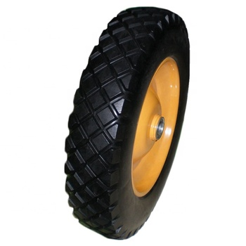 Hot Sale Polyurethane(PU) Tubeless Tyre 3.50-8 350-8 For Wheelbarrow
