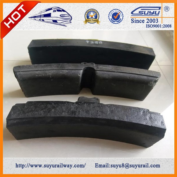 Train And Wagon Cast Iron Brake Pad Shoe Manufacturer