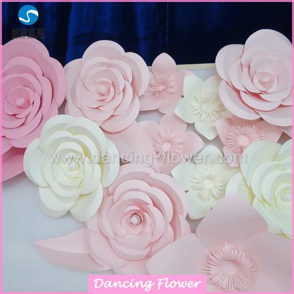 Source Pink And Blue Roman Theme Artificial Paper Flowers Wedding Or
