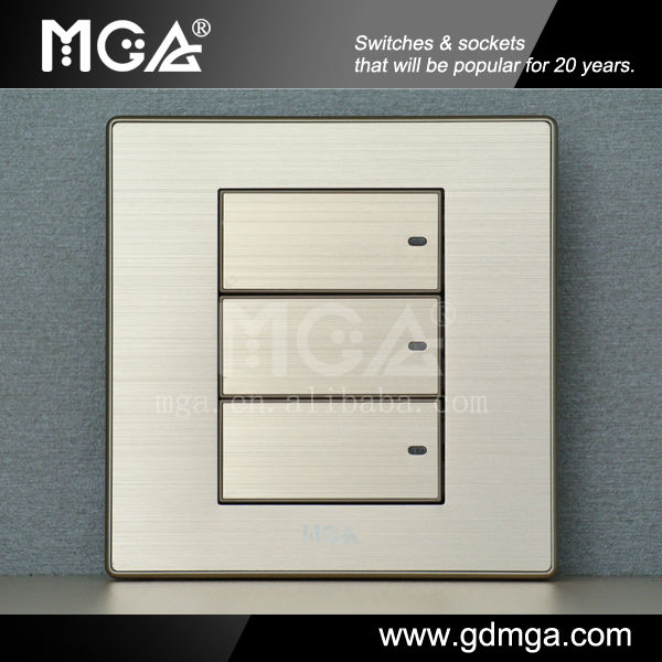 16A Ultra Flat Modern Wall Switches