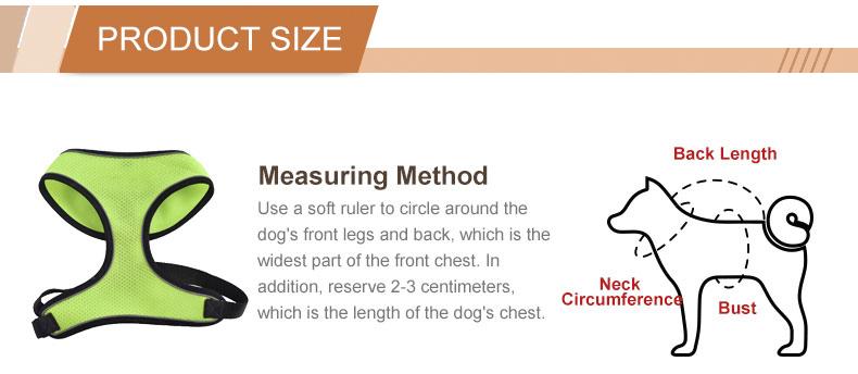 โรงงานที่กำหนดเองรักษาความปลอดภัยเสื้อกั๊กสุนัข Vest, ความปลอดภัยสายรัดสุนัข