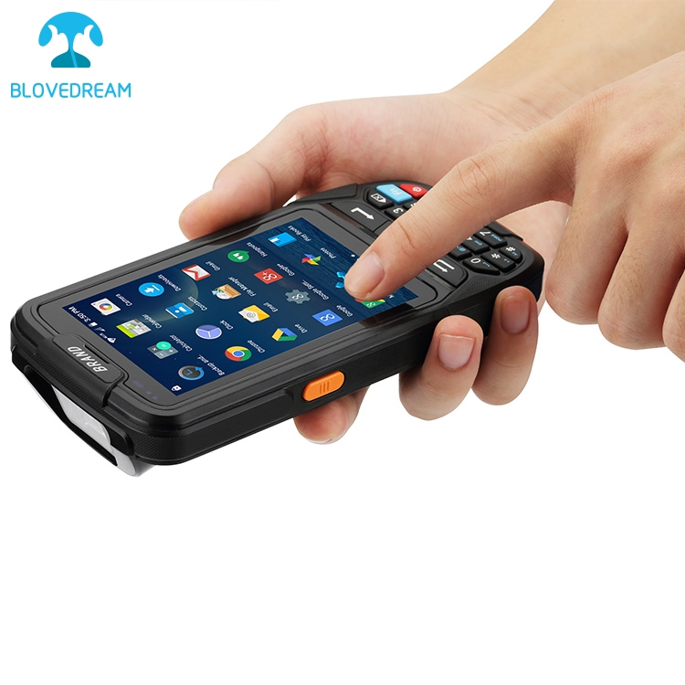 4G Industrial cheapest rugged target ordering pda restaurant courier device wireless rf pda android handheld barcode scanner