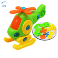 XFC Baby Children Airplane Puzzle Educational Toys Kids Disassembly Assembly Cartoon Toy Aircraft for Gift