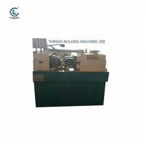 Hydraulic big pitch thread rolling machine for steel rebar price