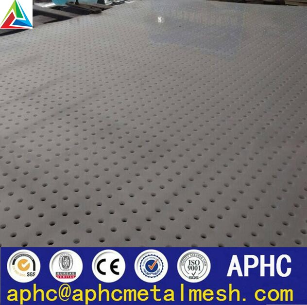 SS304L Micro Hole Steel Punched/Perforated Metal Sheet Factory price
