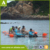 Clear Canoe Transparent Fishing Kayak