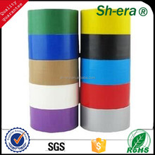 Heat-Resistant Feature hotmelt easy to tear cloth tape for packing