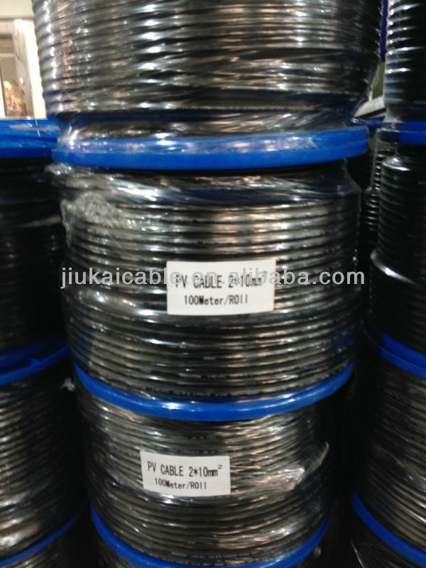 Jet Approved Sun Pv Cable 4Mm2 /6Mm2/ 10Mm2 Solar Kabel