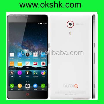 Quad-core 2.5 GHz Krait 400 with 538 ppi pixel density ZTE Nubia Z7 mobiie phone from factory