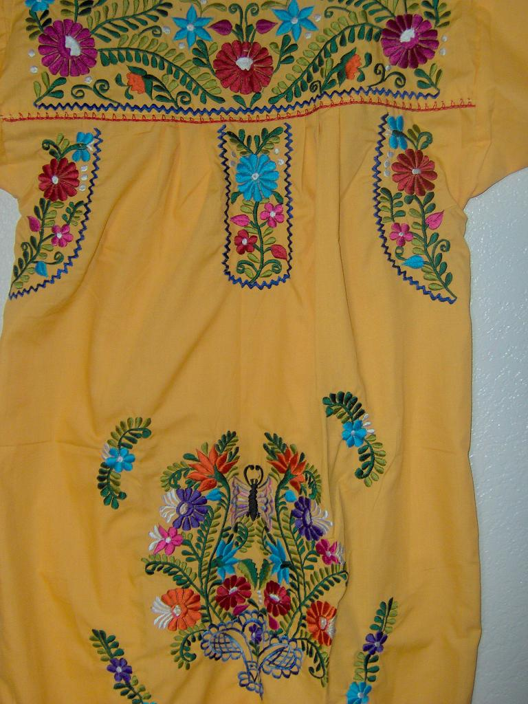 Handmade Oaxaca Embroidered Dresses Buy Embroidered Dresses