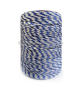 high quality china factory electric fence polywires(2.5mm/5.0mm) polytape for electric fencing