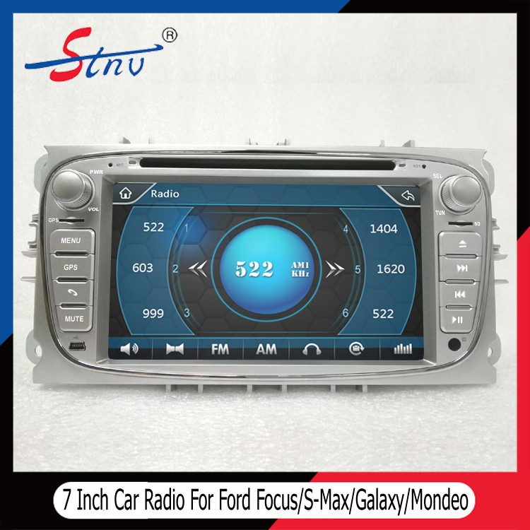 7 Inch Car DVD Player For Ford Mondeo With DVR/Navigation/Radio/SWC
