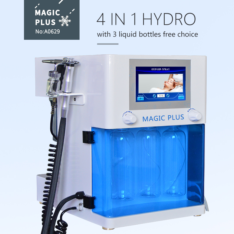 A0629 4 in 1 Korea Hydra Aqua Peel Facial Beauty Machine