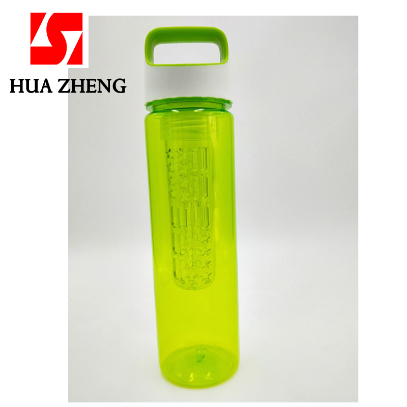 Colourful Large Quality 700ml BPA Free Water Bottle with Straw /& Free Carabiner