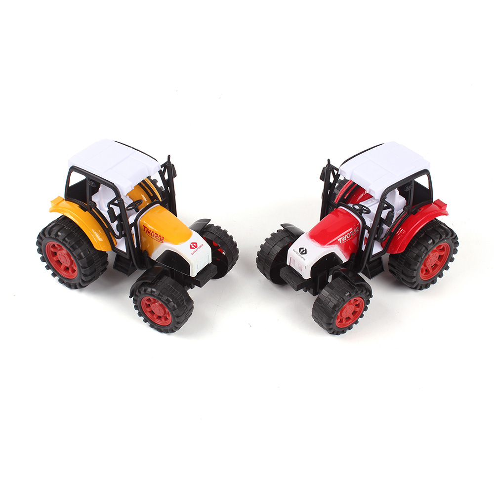wholesale friction plastic mini tractor farmer car farm truck farm toys tractor toy for kid