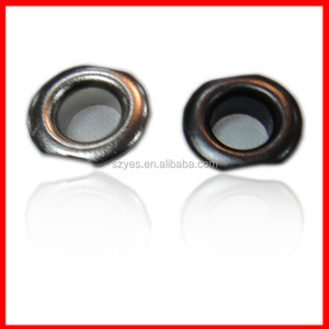 fancy metal plated garment eyelets and grommets,colorful brass eyelet for sale
