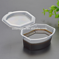 Wholesale plastic yogurt containers disposable salad cup with lids