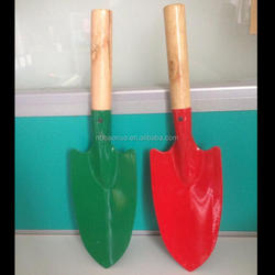 oem plastic spray paint multifunction folding shovel with different color