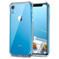 clear transparent shockproof soft tpu bumper case back cover for iphone xr