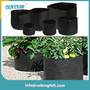 Felt Fabric Material Greenhouse Grow Bag Vegetable Bags Pot Product On Alibaba