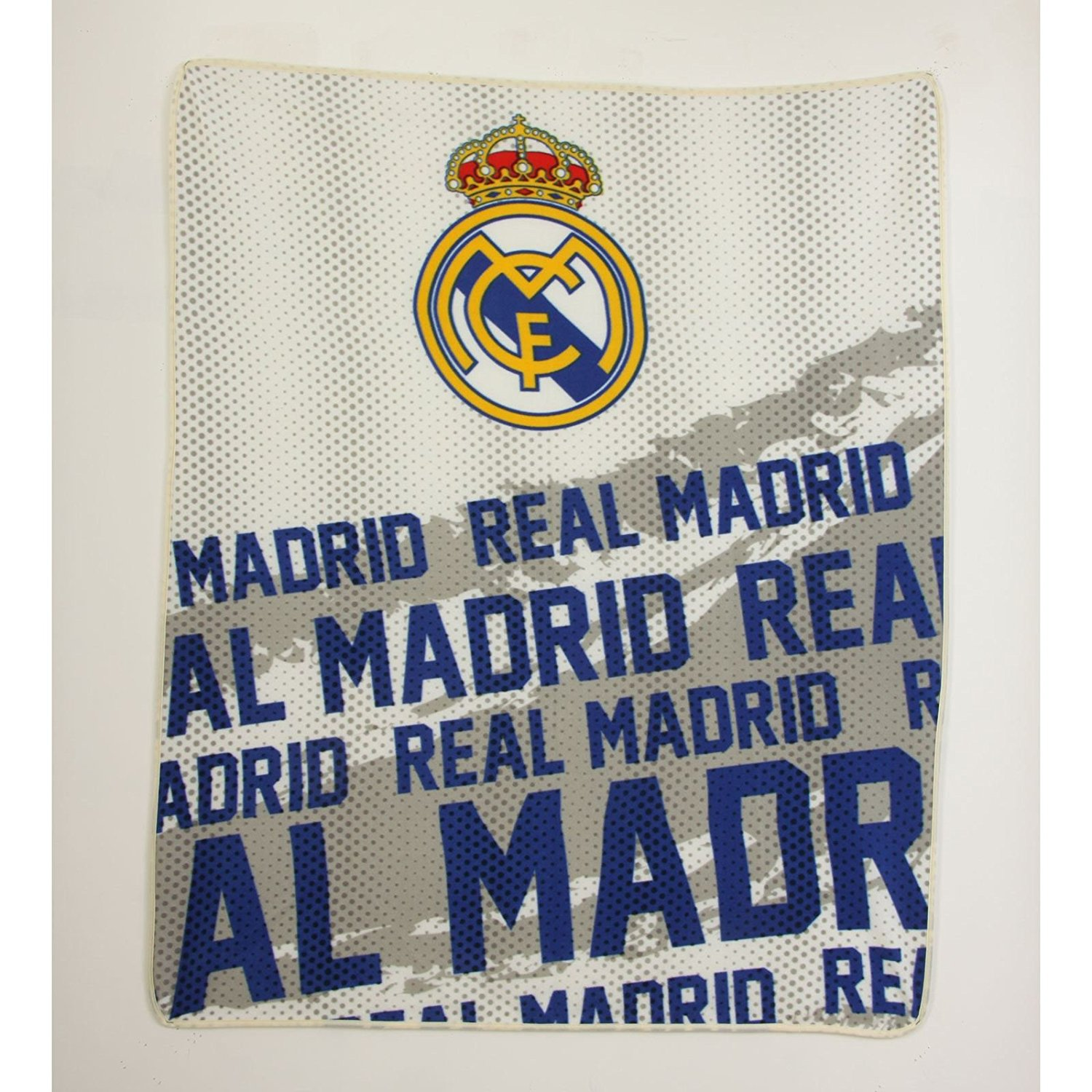 Real Madrid CF Impact Fleece Blanket by Real Madrid F.C.