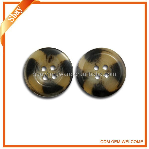 Beautiful abs plastic button for garment