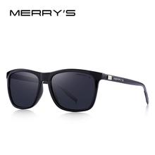 MERRYS Unisex Retro Óculos De Sol De Alumínio Polarizado Lente Do Vintage  Óculos De Sol Para Homens Mulheres S8286 em Óculos de sol de Acessórios de  ... c25e25bccf