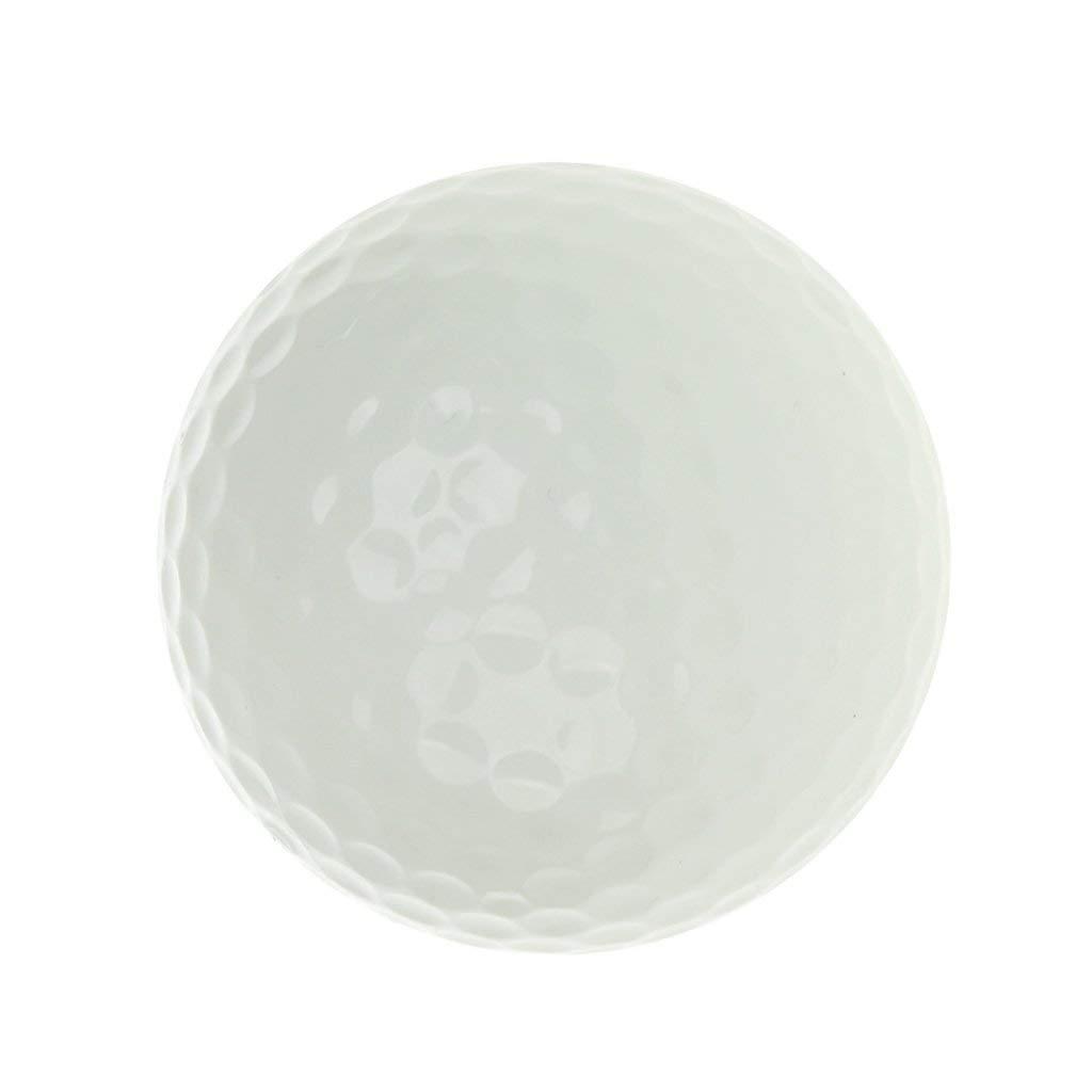 MonkeyJack Golf Luminous Ball Training Practice Balls Fluorescent Tournament Tennis Ball