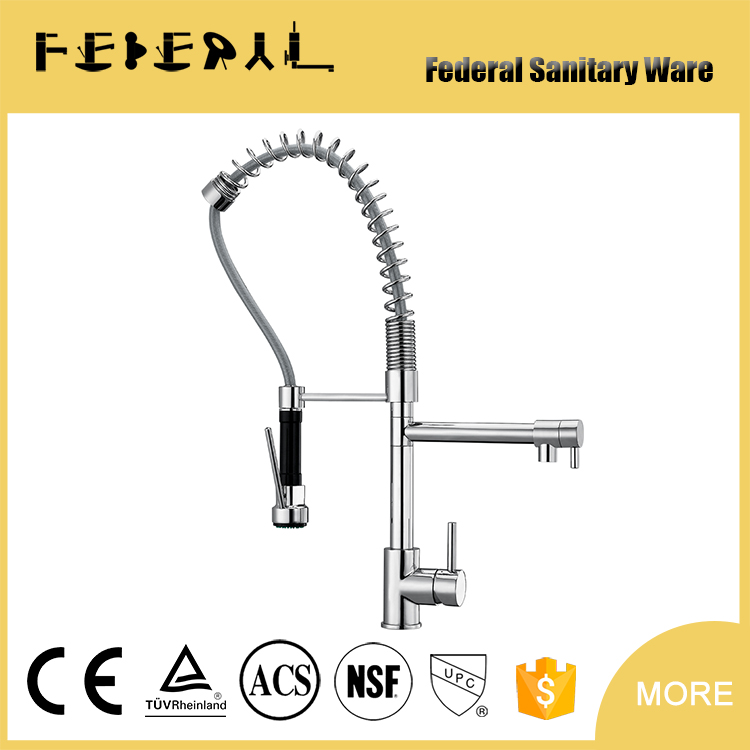 Fashion Brass Kitchen Hot And Cold Water Mixer Sanitary ware