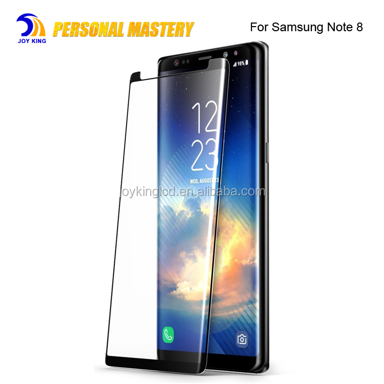 note8 screen protector for samsung Note 8 tempered glass wholesale lcd screen guard for galaxy note8 s8 s8 plus screen protector