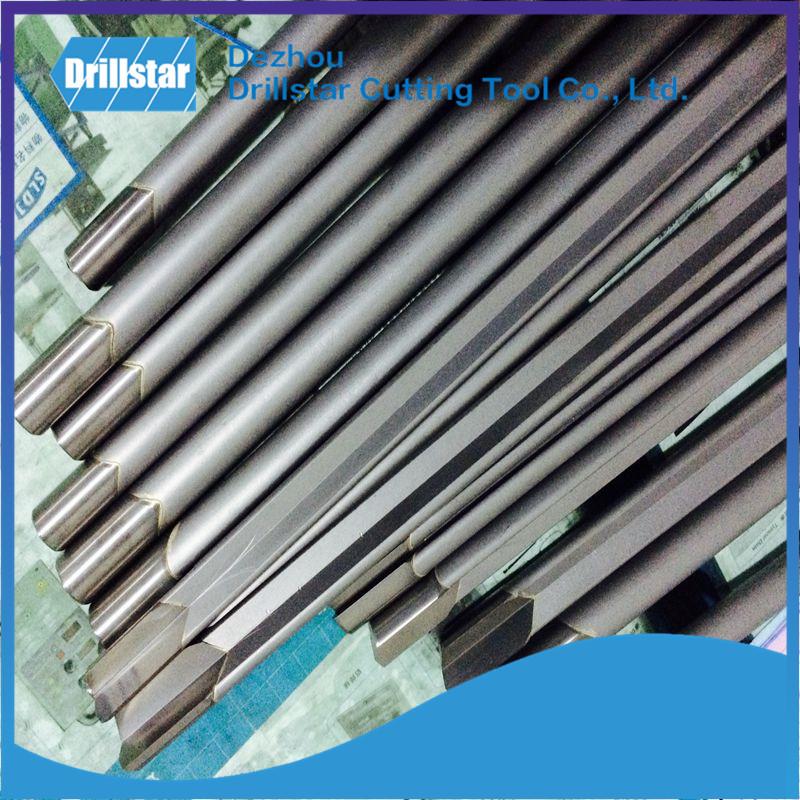 Carbide tip brazed single flute  Gundrilling bit metal drilling Deep Hole Gundrilling carbide gun Drill Bit