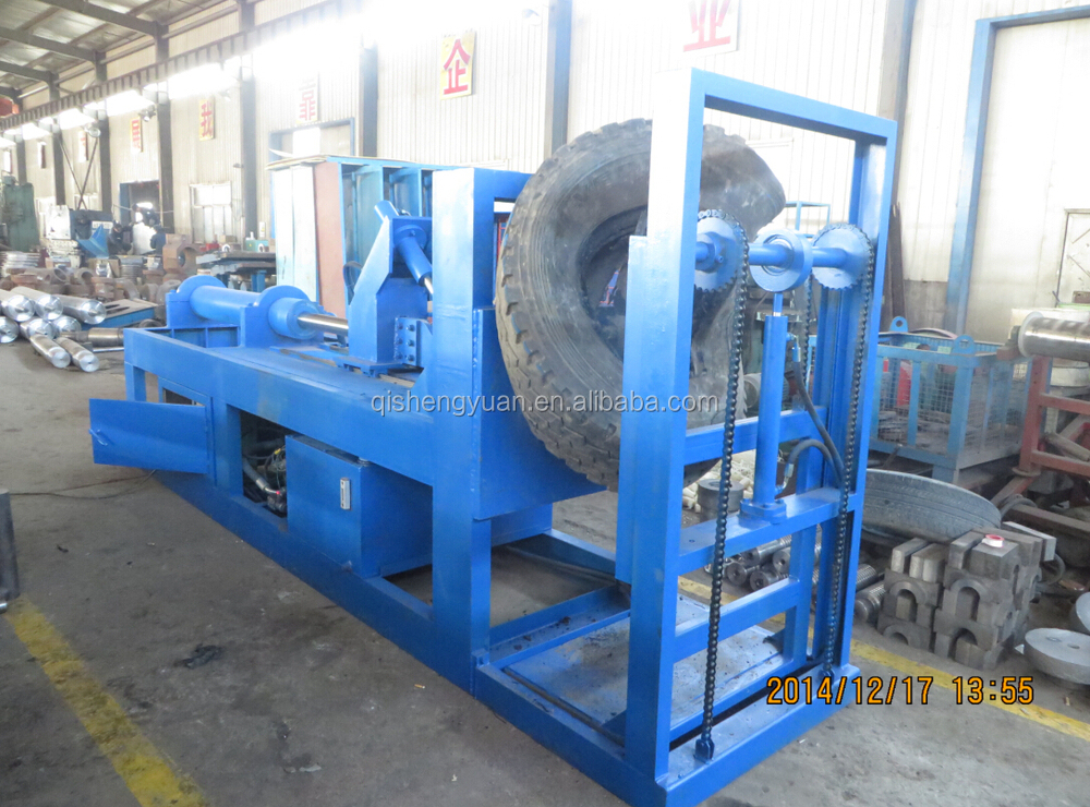 Recycling rubber equipment waste tyre dealing machine ring for Tractor tire recycling