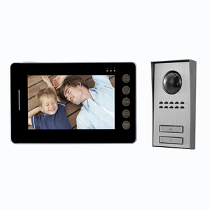 "Smart home access control system PHOTO & VIDEO function 7"" LCD Video Door Phone Doorbell Bell Intercom Video Camera"