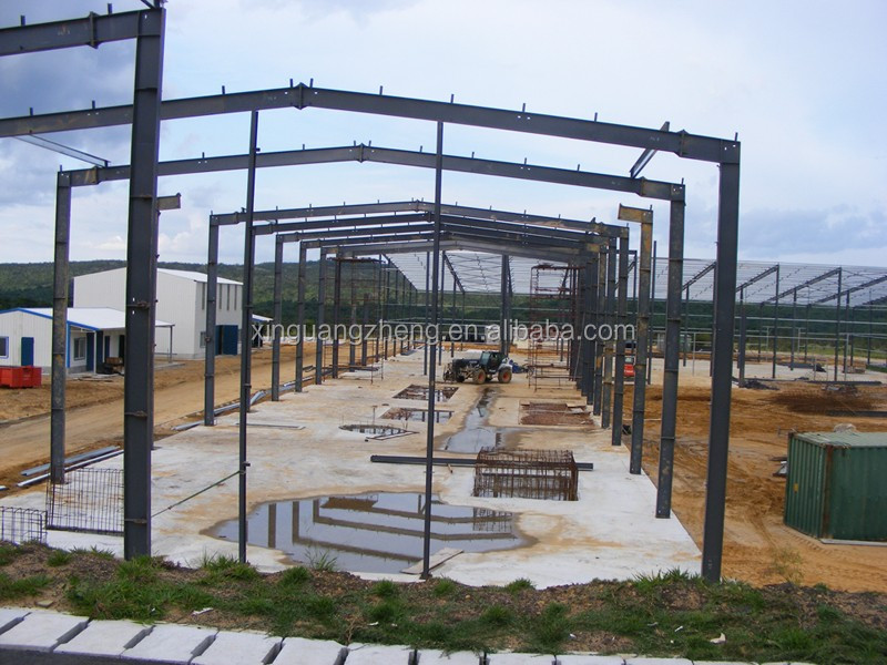 Easy to install and low cost moden steel structure construction hotel/warehouse/workshop/school building