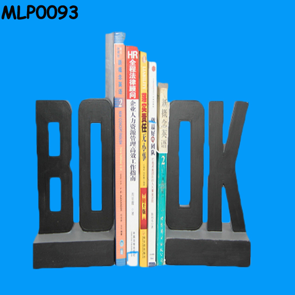 Promotion Book Letters Library Bookend