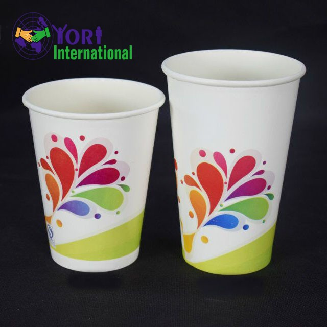 Single wall type take away paper cup for fast delivery time
