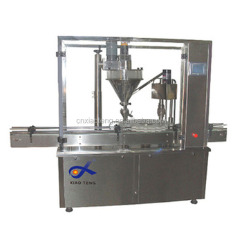 sales powder filling machine with hopper