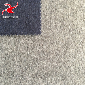 customized/custom-made starched beige twill woven wool fabric