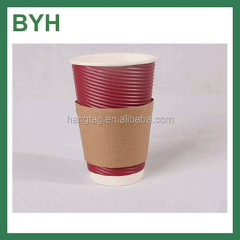 Coffee Paper Cup Designs Design Your Own Carton Sleeve