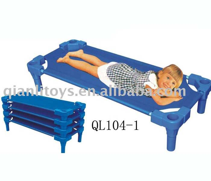 Children furniture stackable cot bed QL104-1