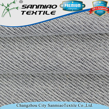 Brand new 100% cotton grey denim fabric textile wholesale with cheap price
