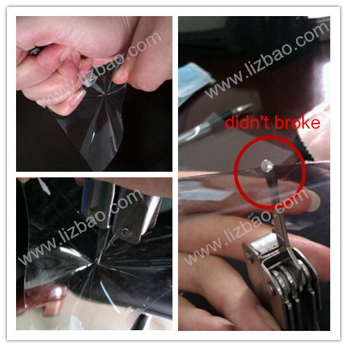 car wrapping film type and PVC material film